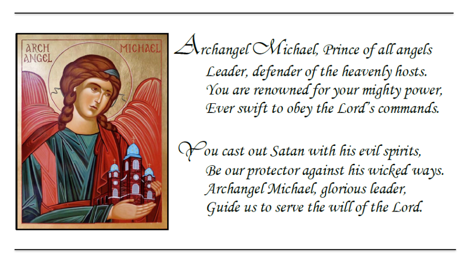 Archangel Michael hymn png