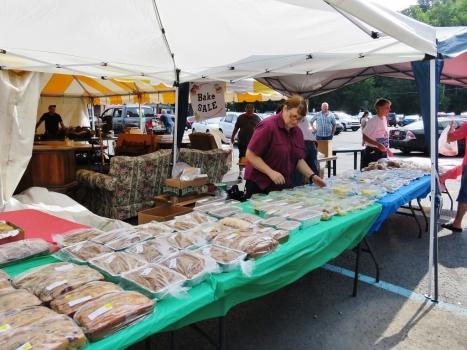 St. Michael Flea Market: Bake Sale Tent