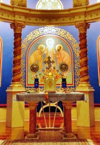 Church Interior 001 - View of Altar Table