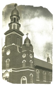 Exterior, St Michaels taller dome 1919