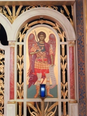 Full view of Icon of St. Michael