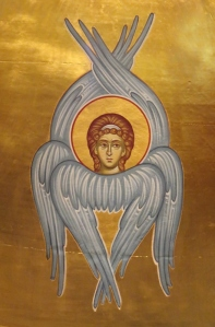 Church Interior 017 -Closeup of Cherubim icon