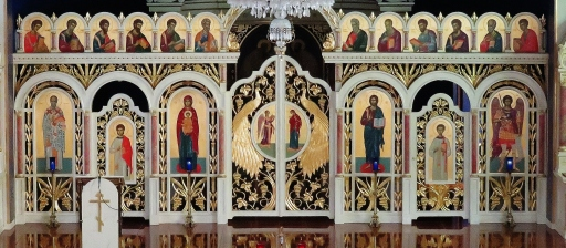 "Iconostasis (For detailed description visit the page on this site ""Iconostasis"")"
