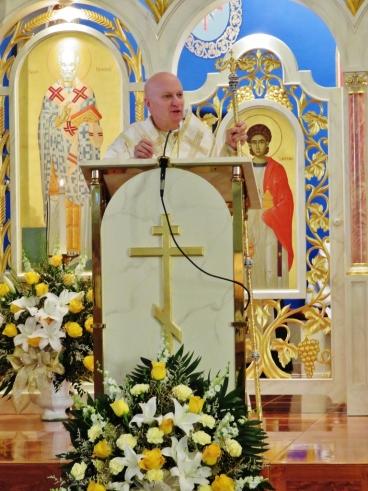 Bishop Kurt delivers homily about Gospel and words of inspiration