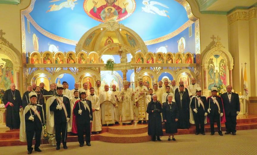 St. Michael's 100th Anniversary Photo, November 1, 2015