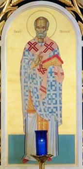 Icon of St. Nicholas, patron saint of all Eastern Catholic Churches