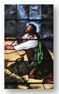 Jesus in Gethsemane Garden