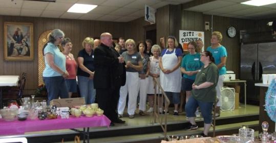2015 Aug 1 Flea Market Opening Prayer(800x587)