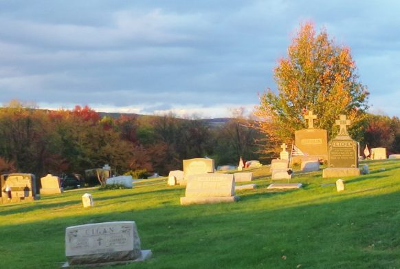 St Michaels Cemetery Pittston