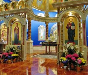 Theotokos and Christ the Teacher Icons