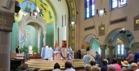 Byzantine Liturgy at St. Ann Novena 2017