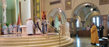 Byzantine Liturgy at St. Ann Novena 2017