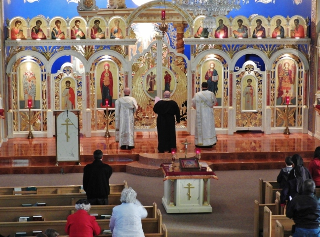 Byzantine Catholic Lenten Vespers 0178
