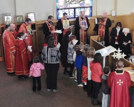 Byzantine Catholic Lenten Vespers 0215