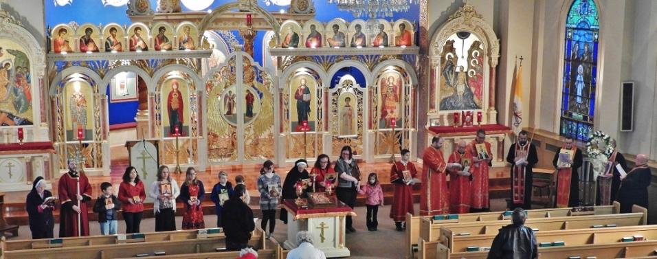 Byzantine Catholic Lenten Vespers 0226