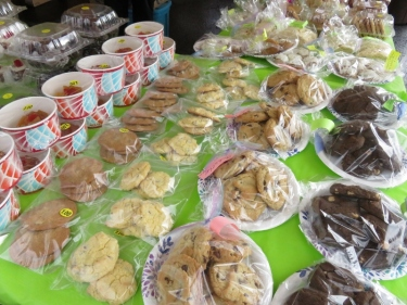 Flea Market Bake Sale