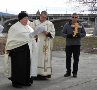 2019-02-10 River Blessing Prayers by Priest