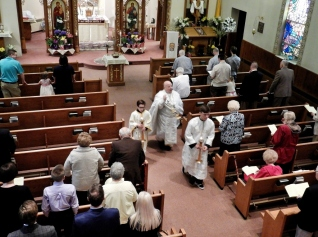 Paschal Liturgy at St Nicholas Swoyersville