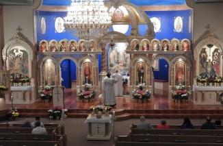 Paschal Liturgy at St Michael, Pittston