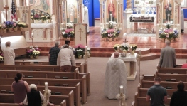 Paschal Liturgy at St Michael, Pittston