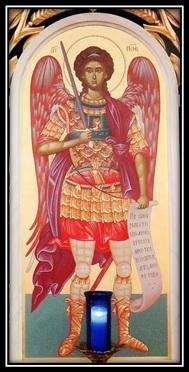 Framed St. Michael