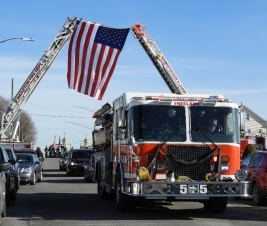 2019-12-12 641 Ladder Truck Honors